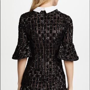 493b04bc66bf1 Self-Portrait Dresses | Self Portrait Embroidery Sequin Dress Size 6 ...